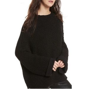 NWT Free People Cuddle Up Pullover Sweater sz M